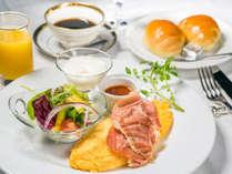朝食(一例)/洋食をご用意いたします