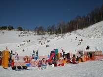 車山高原スキー場 無料で遊べるキッズワンダーランド