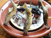 【涼風会席】新鮮!身たっぷり!の旬の鮎をご用意しております。