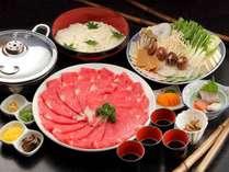 【丹波篠山牛の餅しゃぶ】定番+彩り豊かな五味五色の田舎餅をご提供♪