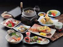 *【会席料理(一例)】通常のお料理からワンランクアップした贅沢なお食事