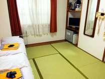 【トリプルルーム】和室でゆっくりとおくつろぎ頂けます。