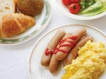 ◆バイキング朝食◆写真は洋食例です。お好きな物をお好きなだけ、一日の元気なスタートを応援します♪♪