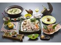 【★本クエ鍋+地魚造り】コンコンと湧き出る自家源泉も♪
