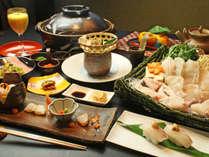 天然本クエづくし !!クエをあらゆる調理方法で楽しめます♪,和歌山県,紀州の隠れ湯 栖原温泉
