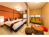 きんとき豆のお部屋~6畳+3畳のお部屋です。一番オススメのお部屋です!