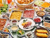 『朝食バイキング(一例)』