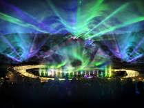 イルミネーション2017新登場!光と音のスーパーオーロラショー【イメージ】