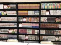 貸し出し用漫画本1000冊設置致しました。
