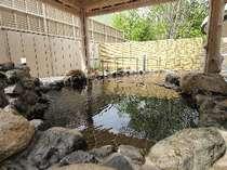 四季を堪能できる露天風呂