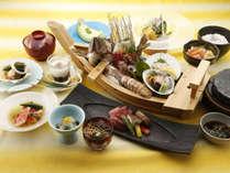 【夏の味覚】舟盛り付きで贅沢気分♪北海道の旬を満喫<小樽浪漫御膳>