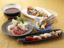 【1日3組限定】夏の山海の厳選食材をじっくり味わう<夏の料理長おまかせ御膳>