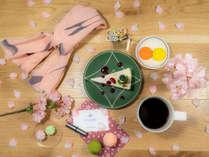 京都の桜シーズン間近!フォトジェニックなポイントが館内にはたくさん♪