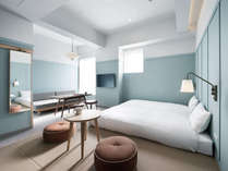 【スーペリア4(シ゛ャハ°ニース゛スタイル)】最大4名迄ご宿泊頂ける31平米のお部屋の一つ(全2タイプ)。