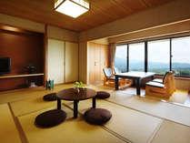【掘りごたつ付:新和室(10畳)】ネット利用可。MIKIMOTOコスメ付。Wi-Fi対応。