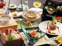 ◆【太閤御膳】日本海・旬の海鮮&「頸城牛」すき焼き