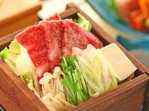 【太閤御膳:煮物/春~秋】新潟産の日本酒で酒蒸しされた「頸城牛君の井蒸篭蒸し」。
