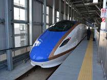 ■期間限定■北陸新幹線「上越妙高駅」から往復送迎付き楽々プラン
