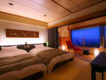 *【本館6階】新タイプ:和モダンツイン<琉球畳と板間>(37.5平米)