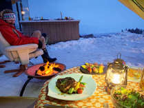 \♪絶景と四季の自然を屋外で優雅に味わう♪プチ・グランピング&豪華BBQ&生ビール1杯サービス☆/
