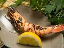 【一品料理】海老の塩焼き(3日前までの事前予約制)