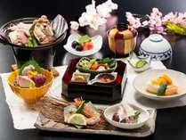 鮮魚のお刺身と旬の料理に舌鼓!【スタンダード】 ※2019春料理イメージ