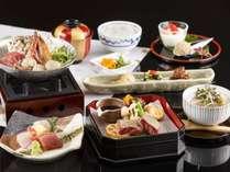 【スタンダード】鮮魚のお刺身と旬の料理に舌鼓 ※秋の料理イメージ