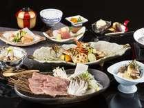 【伊勢海老付き会席】季節に合わせた料理法でおもてなし ※秋の料理イメージ
