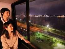 【イメージ】しんじ湖の夜景を見ながらお部屋でまったり♪♪