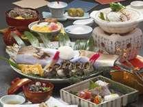 【料理】宍道湖七珍会席◆すずきの奉書焼きなど
