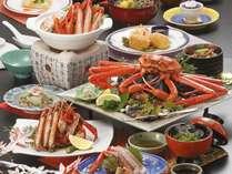 日本海の紅ずわい蟹♪贅沢に3杯使用♪