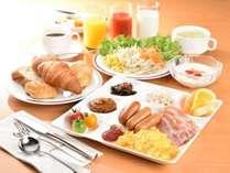 洋メインの朝食イメージ♪