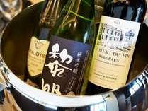 日本酒、ワインを含む【優雅な朝食】多彩なメニューからマイ朝ごはんをコーディネート。