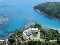 海抜56mの高台に建ち、晴れた日には水平線に浮かぶ伊豆七島を望む立地です。