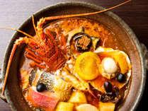 【ディナー】開業当時から代々の料理長が挑み続ける伝統のフィッシャーマンズスープ