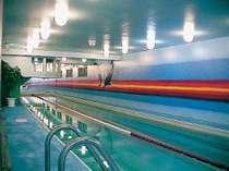7月下旬~9月上旬の21m館内プールは、通常水のプールです。(無料にてご利用頂けます。)
