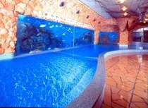 海底温泉「お魚風呂」…泳ぐ魚を見ながら心も体もリラックス