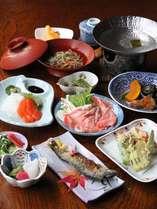 女将手作りの奥飛騨郷土料理(一例)