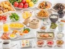 「無料サービス」朝食バイキング♪和洋約20種類で品数豊富