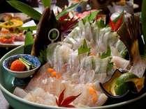 【かぼすヒラメづくし】魚好きには堪らない姿造り付きフルコース!(※このプランは2名様からとなります)