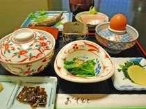 【1泊朝食付】平日限定★食材にこだわった、あったか朝ごはんで元気にご出発を!