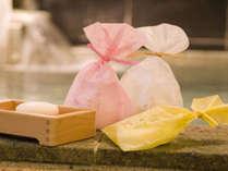 当館オリジナルの美人湯石鹸です★
