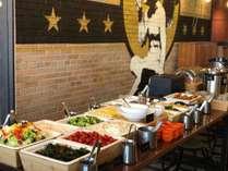 洋食を中心としたビュッフェ式の朝食