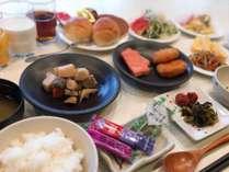 朝食バイキング■朝食会場 2階フロント前ロビー 6:45~10:00