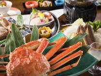 冬の味覚の代表格、ズワイ蟹。甘みと旨みが詰まったジューシーな味わいを♪