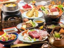 ☆マグロ祭りAコース☆分厚く切ったマグロのお刺身、マグロのステーキなどグレードの贅沢磯料理
