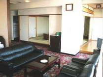 特別室一例(和室+ツインベッド付洋間+海側眺望)