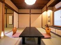 【和室バストイレ無し(少人数用客室例)】1つとして同じ造りのお部屋が無い為人数により異なります♪