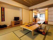 【ほにやスイート】広々したお部屋は6名様までご利用できます。