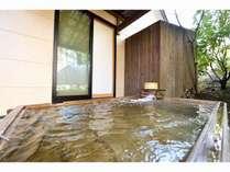 和洋室・白菫の露天風呂